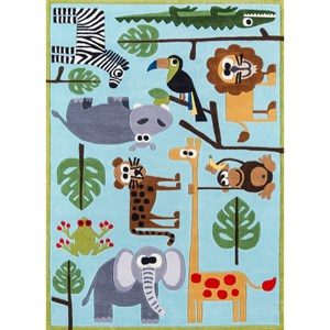 Safari 8' X 10' Rug - Blue