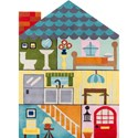 Momeni Lil Mo Whimsey Home Sweet Home 3' X 5' Rug - Multi - Item Number: 25298