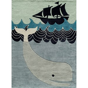 Whale 4' x 6' Rug
