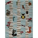 Momeni Lil Mo Whimsey Nature 4' x 6' Rug - Item Number: 32303