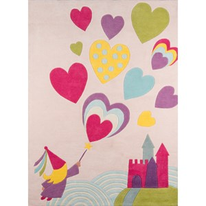 Fairy Princess 8' X 10' Rug - Pink