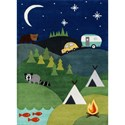 Momeni Lil Mo Whimsey Camping 8' X 10' Rug - Blue - Item Number: 32322