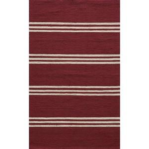 Red Veranda 5' x 8' Rug