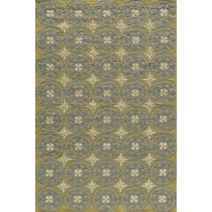 Yellow Veranda 4' x 6' Rug