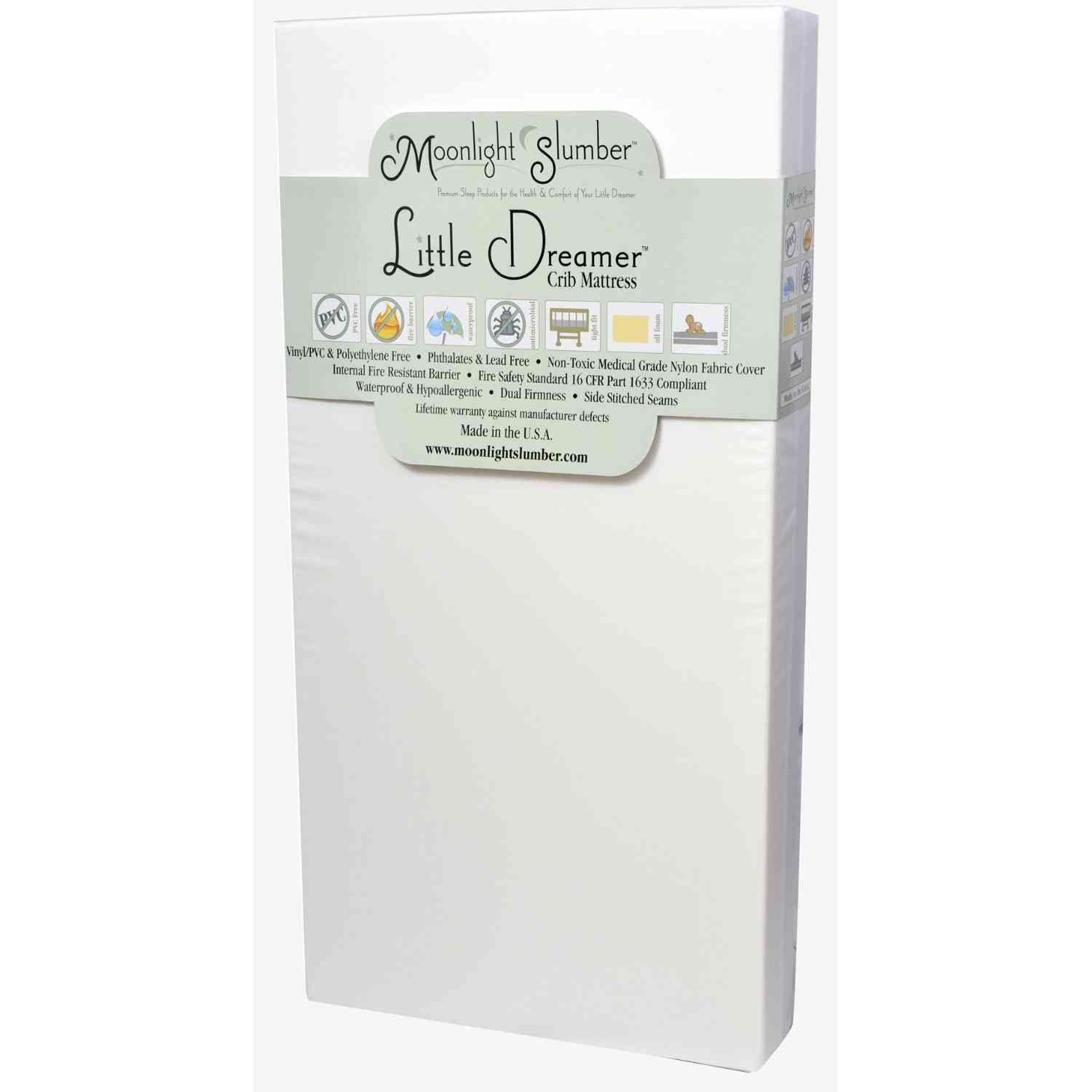 Moonlight Slumber Moonlight Slumber - Little Dreamer All Foam Crib Mattress - Item Number: Crib-Foam