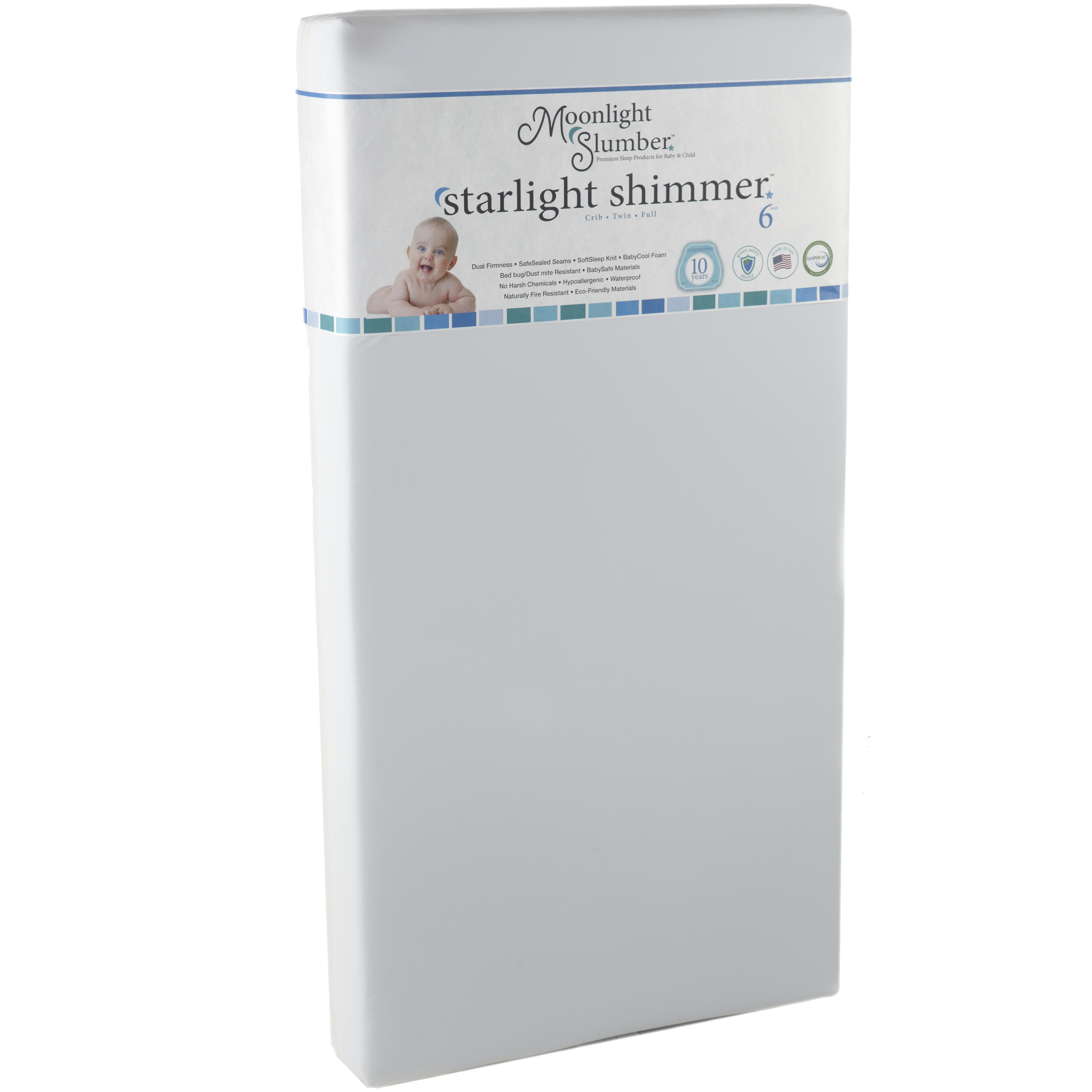 Shimmer Crib All Foam Mattress