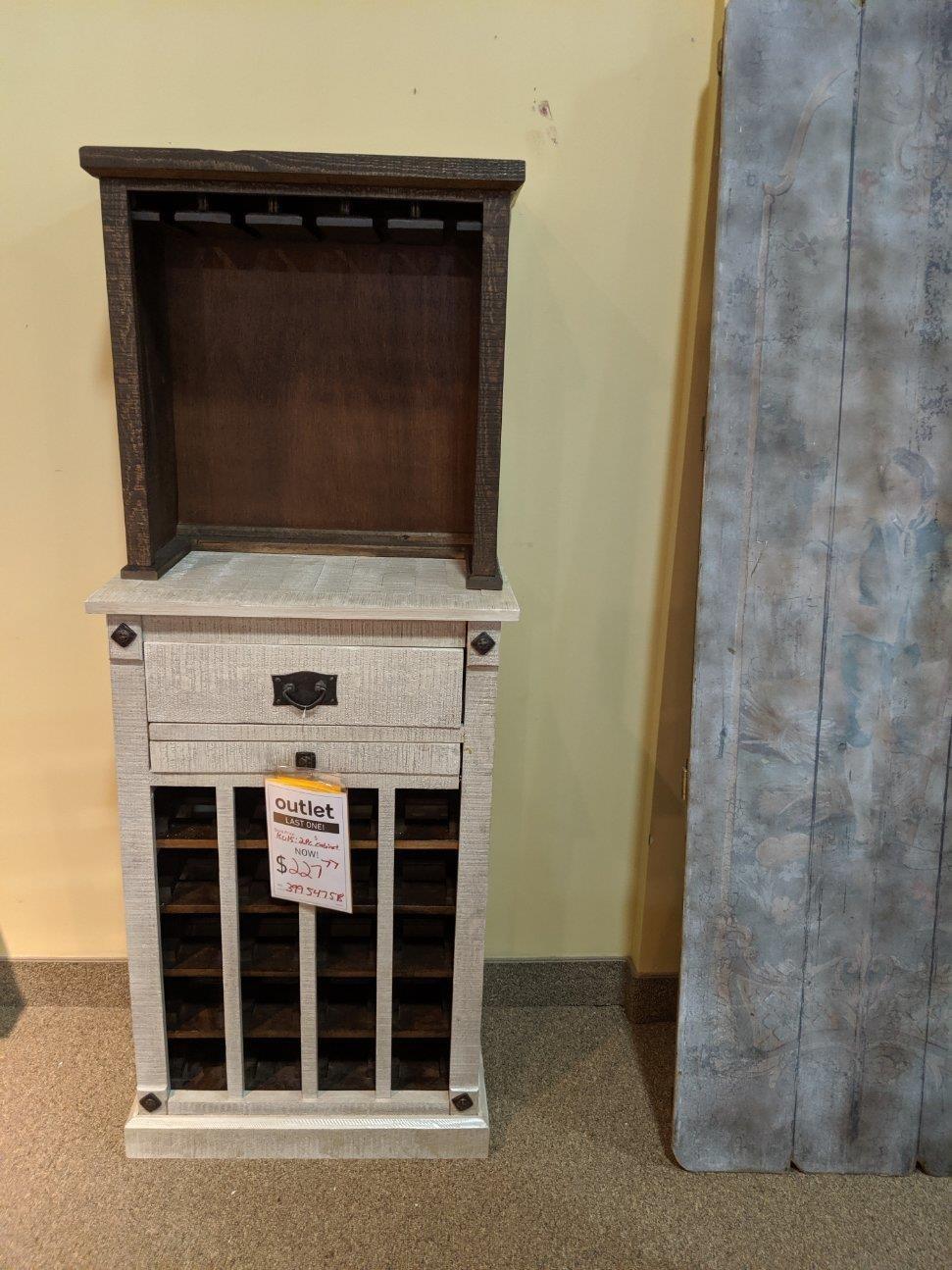 LAST ONE! Wine Cabinet!