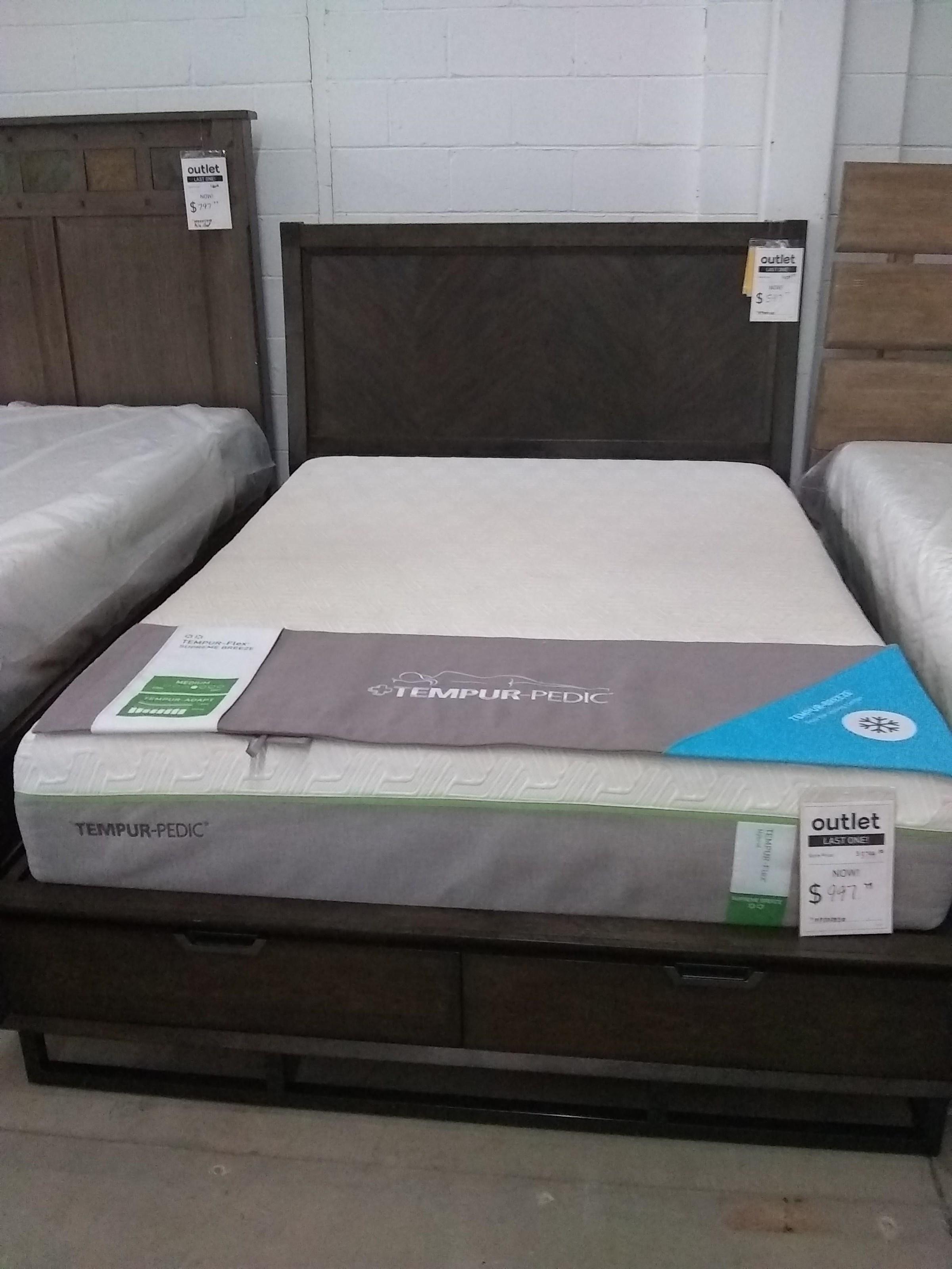 Last One! Storage Queen Bed