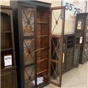 Morris Back Room Bookcase Cabinet! LAST ONE! - Item Number: 0521988310