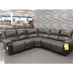 Last One! Reclining Sectional Sofa
