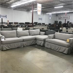 Last One! Sectional Sofa and Chair!