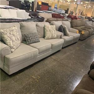 Last One! Sofa and Loveseat Set
