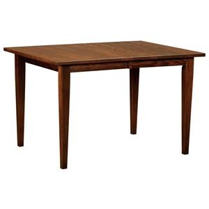 Customizable Solid Wood Leg Table