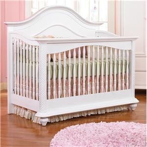 Muniré Furniture Bristol Elegant Lifetime Crib