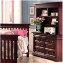 Muniré Furniture Majestic Double Dresser and Hutch