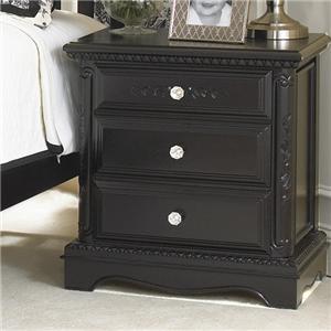 Muniré Furniture Savannah Three Drawer Night Stand