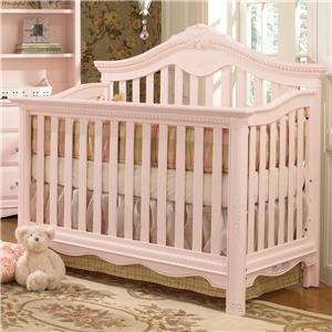 Muniré Furniture Savannah Lifetime Convertable Crib