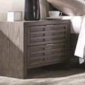 Najarian Belize 2 Drawer Night Stand - Item Number: BDBELNS2