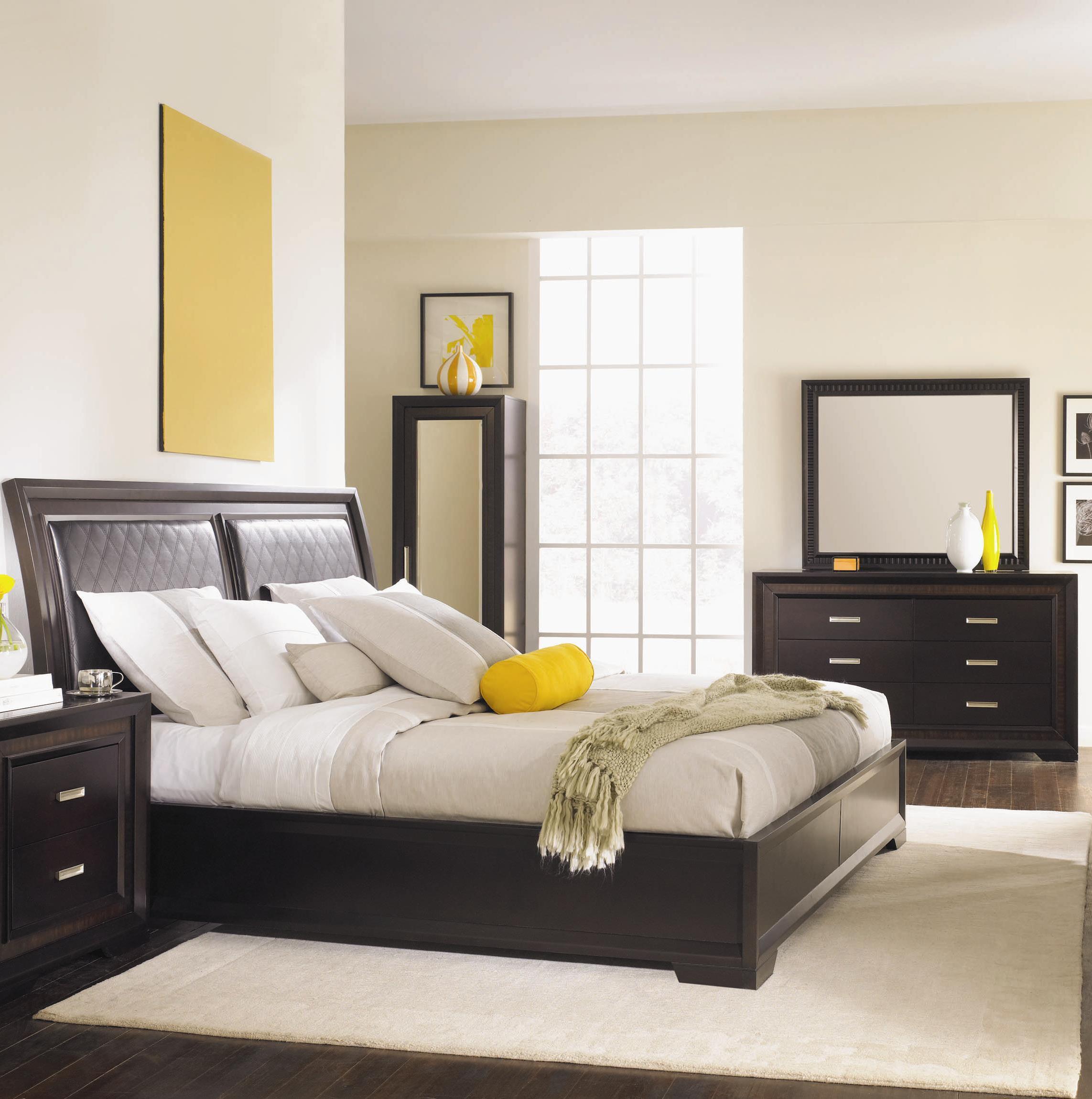 Najarian Brentwood 5 Piece King Bedroom Set - Item Number: BRENTWOOD-5BEDK