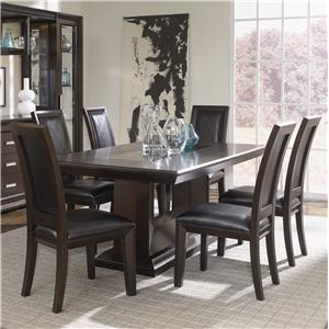 Najarian Brentwood Seven Piece Dining Set