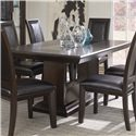 Najarian Brentwood Formal Dining Table - Item Number: DTBREFTM+DTBREFBM