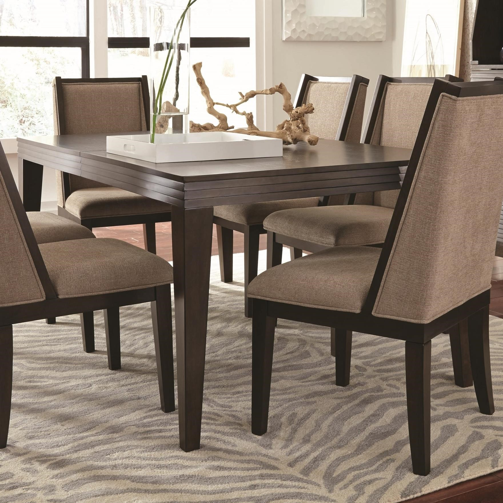 Najarian Cascade Contemporary Rectangular Dining Table