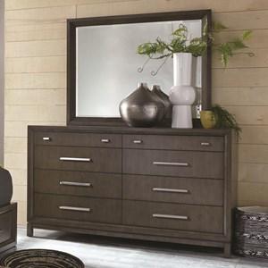 Captivating Najarian Cordova Dresser And Mirror Set