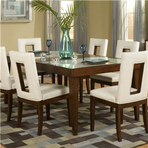 Nice Najarian Enzo Dining Rectangular Table Home Design Ideas