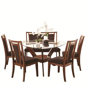 Najarian Gallia Table, Chair and Bench Dining Set