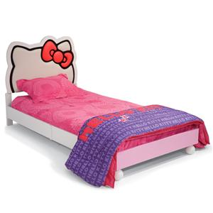 Najarian Hello Kitty Youth Bedroom Hello Kitty Theme Twin Size Bed