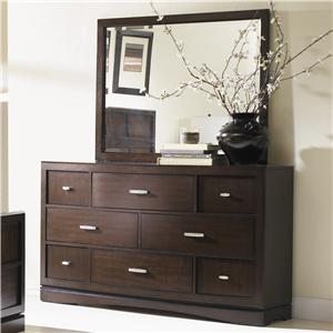 Najarian Key West Dresser and Mirror