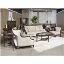 Najarian Newport Living Sofa and Accent Chair - Item Number: 122310434