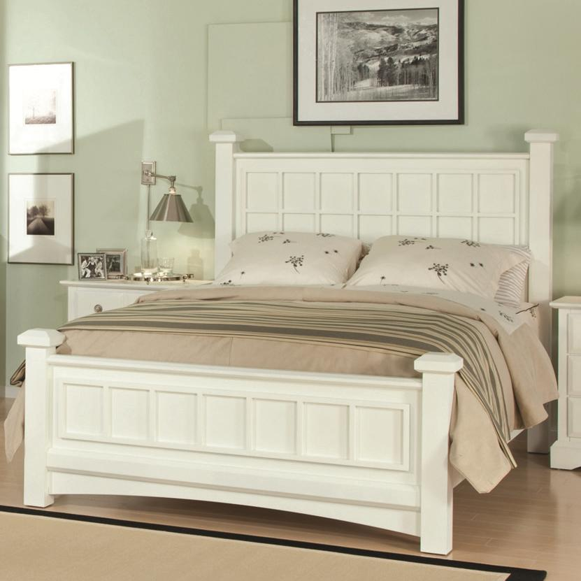 Najarian Palazzo Queen Low Post Bed - Item Number: BDPALXHBQPW+BDPALXFBQPW+BDPALXRSQPW
