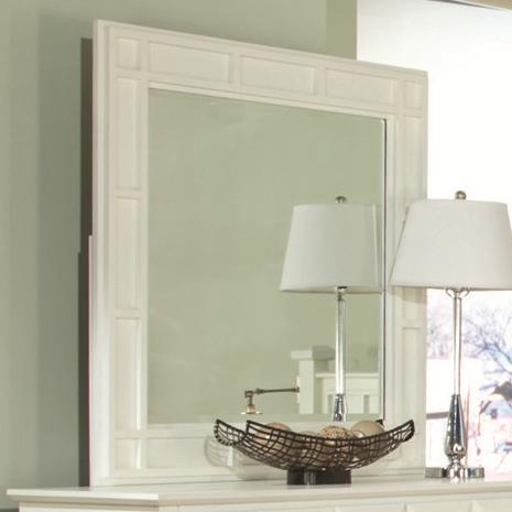Najarian Palazzo Dresser Mirror - Item Number: BDPALXMRW