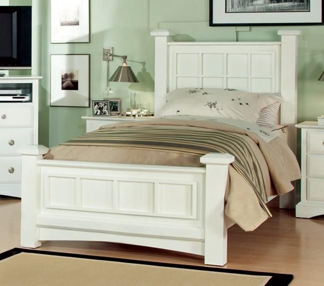 Najarian Palazzo Youth Bedroom Low Post Full Bed - Item Number: BDPALXHBFW+RSFW+FBFW