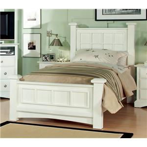 Najarian Palazzo Youth Bedroom Low Post Full Bed