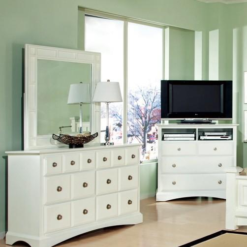 Najarian Palazzo Youth Bedroom Mirror - Item Number: BDPALXMRW