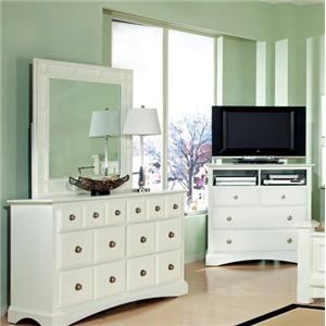 Najarian Palazzo Youth Bedroom Mirror