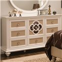 Najarian Paris Youth Bedroom Dresser - Item Number: BDPARDRP