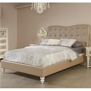 Najarian Paris Youth Bedroom Full Upholstered Bed