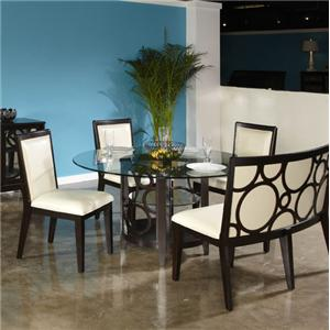 Najarian Planet Round Dining Table