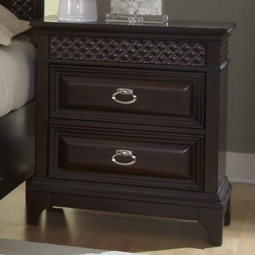 Najarian Sonoma Nightstand - Item Number: BDSONNS1