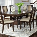 Najarian Westwood Dining Dining Table - Item Number: DTWESFT+DTWESFTB