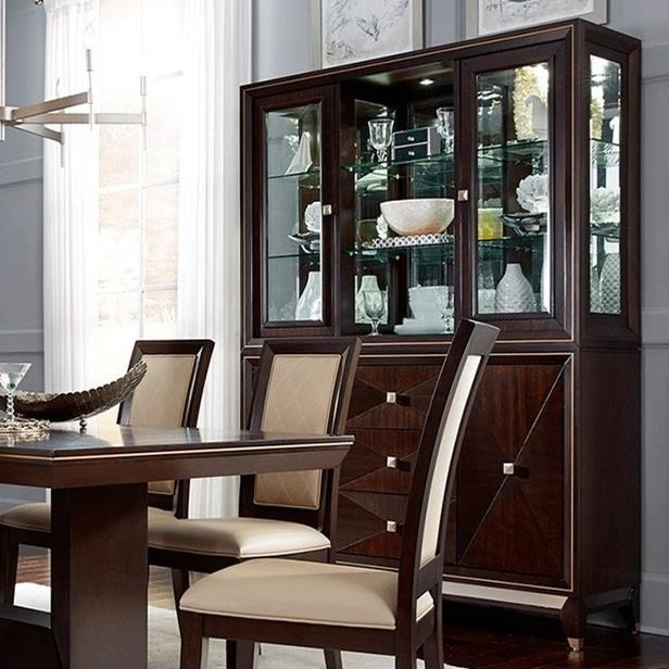 Ashley Furniture In Woodbridge Nj: Del Sol NF Woodbridge Server And Hutch With Touch LED