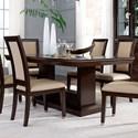 Najarian Woodbridge Rectangular Dining Table - Item Number: DTWOOFT+FB