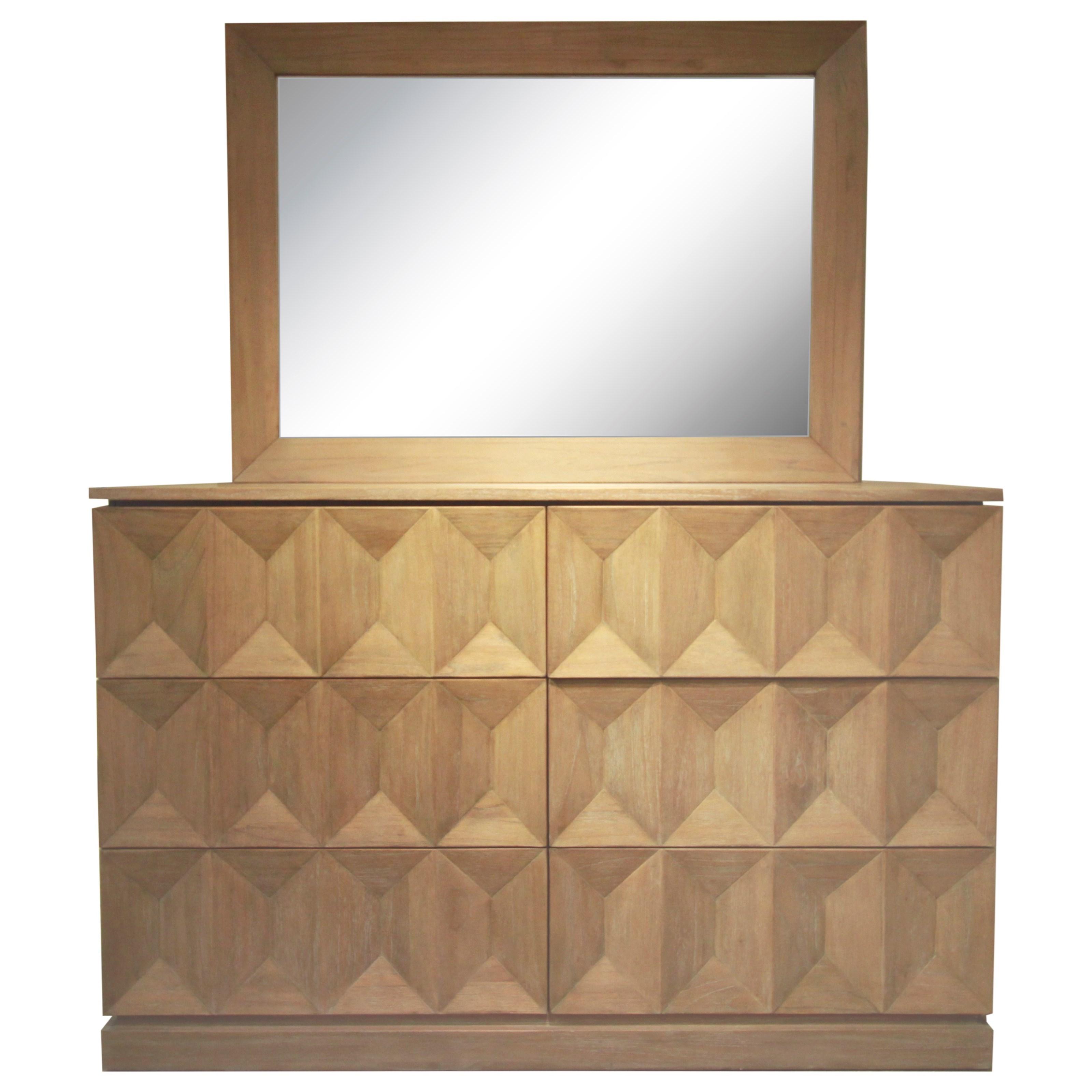 Napa Furniture Designs Eastside 6 Drawer Dresser With