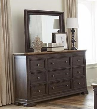 Grand Louie Dresser & Mirror by Napa Furniture Designs at Johnny Janosik