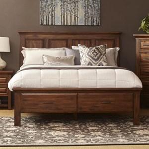 Napa Furniture Designs Hill Crest Queen Storage Bed