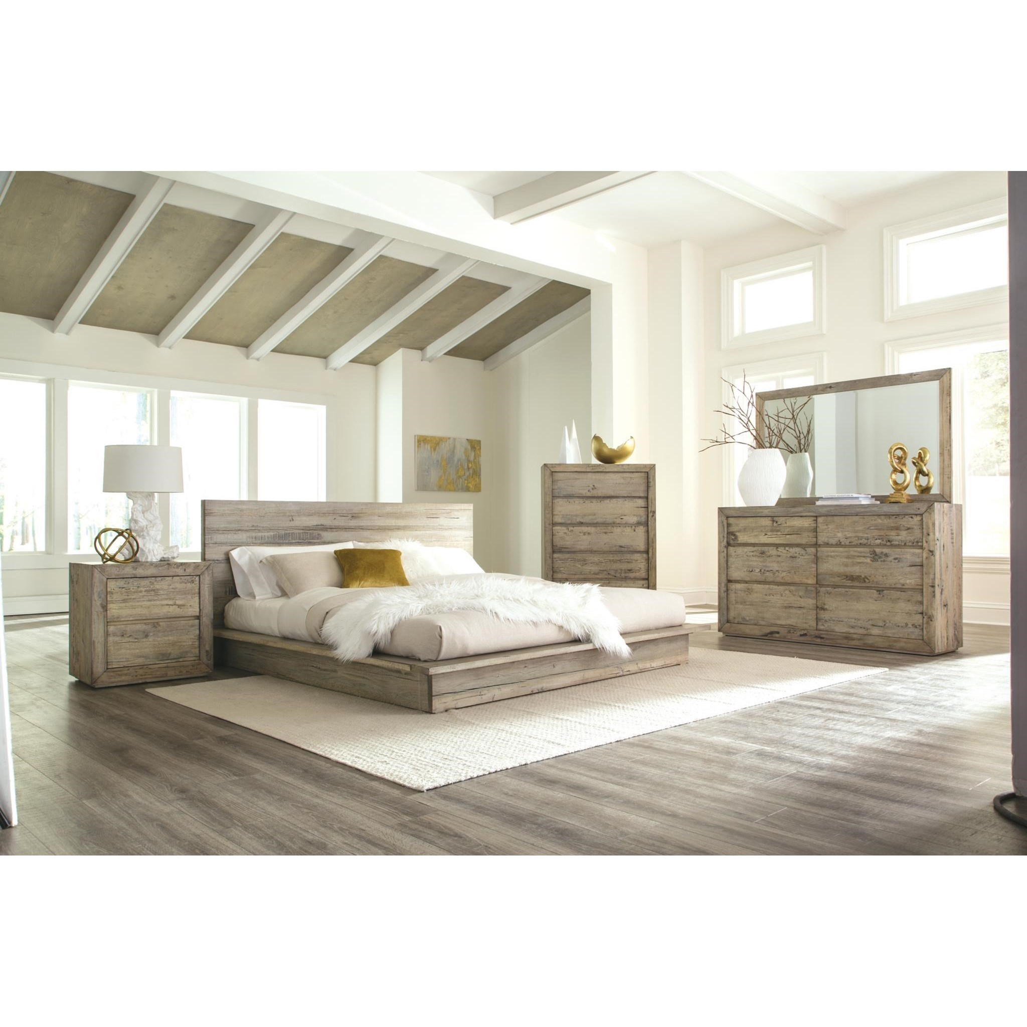 Renewal King Bedroom Group by Napa Furniture Designs at HomeWorld Furniture