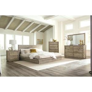 Napa Furniture Designs Renewal Queen Bedroom Group